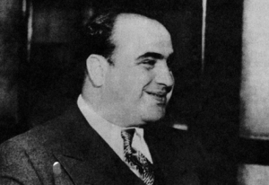 Al Capone - Photo from LibertyMagazine.com