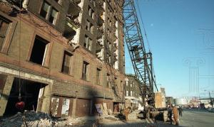 Demolition of the Lexington Hotel, 1996 - Photo from EBay.com