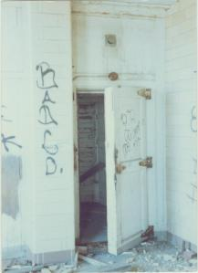 Door to a Chilling Room – Photo by Bob Graham, circa 1987