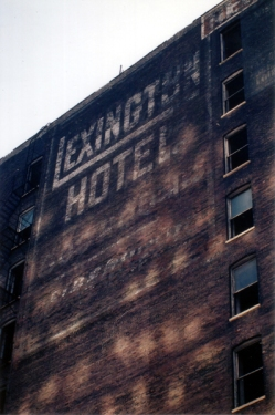 The Lexington Hotel - Photo from MyAlCaponeMuseum.com