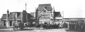 Union Stock Yard Gate - Photo from Wikipedia.org