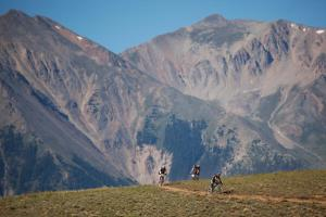 The upper reaches on Columbine